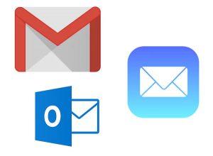 E-postkonton och klienter för webbhotell
